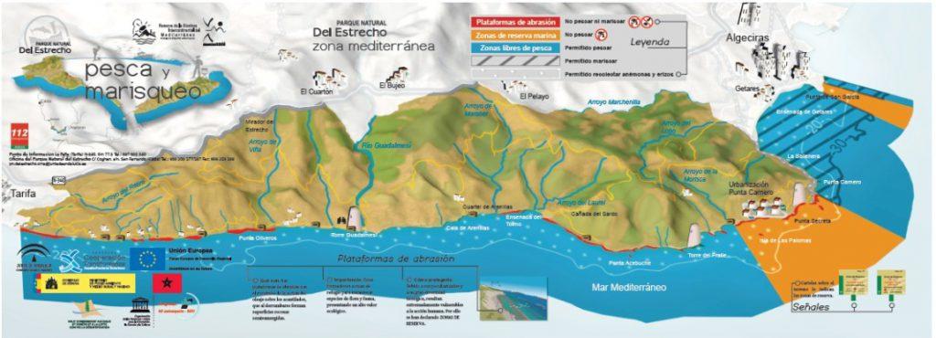 Mapa de tienda de pesca en Castellón