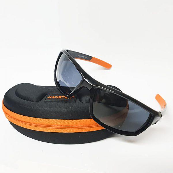 Gafas polarizadas JIANGTUN negras y naranjas