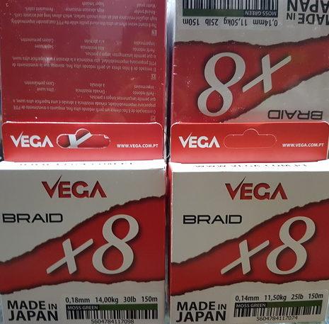 Hilo trenzado VEGA BRAID x8