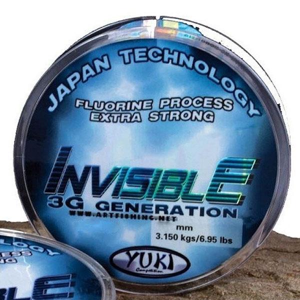 Hilo fluorocarbono YUKI INVISIBLE 3G