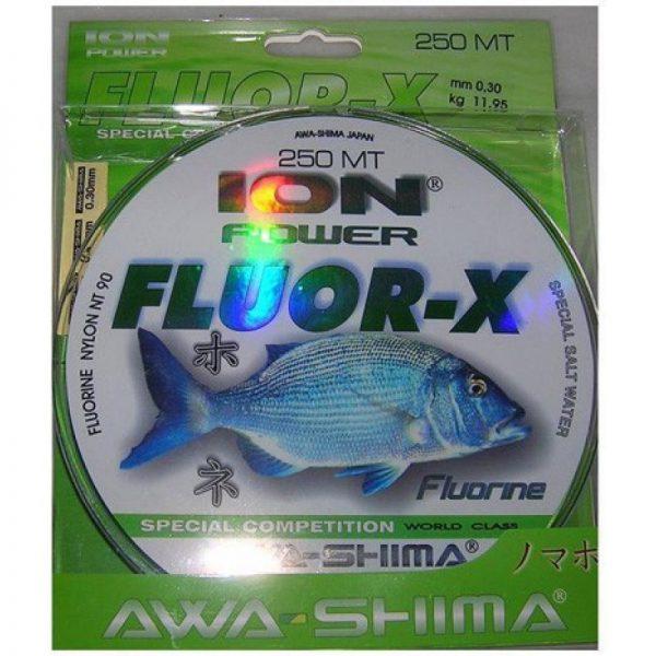 Hilo fluorocarbono AWASHIMA ION POWER