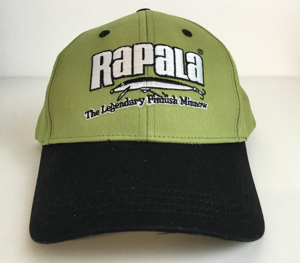 Gorra de RAPALA verde y negra