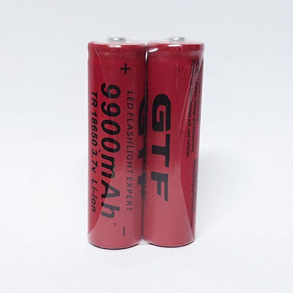 Baterías ionLitio para linterta recargables 9900mAh