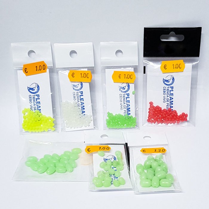 Perlitas de silicona para montaje de bajos