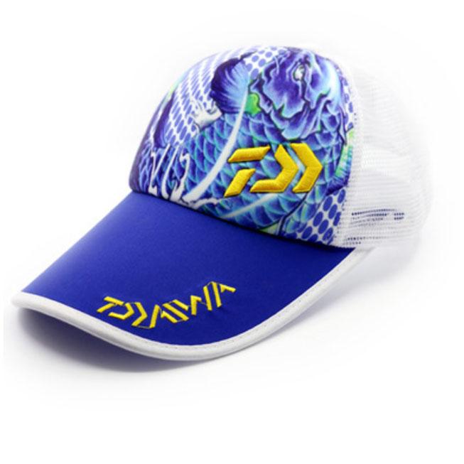 Gorra Daiwa azul y amarilla