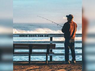 Pescador pesca online