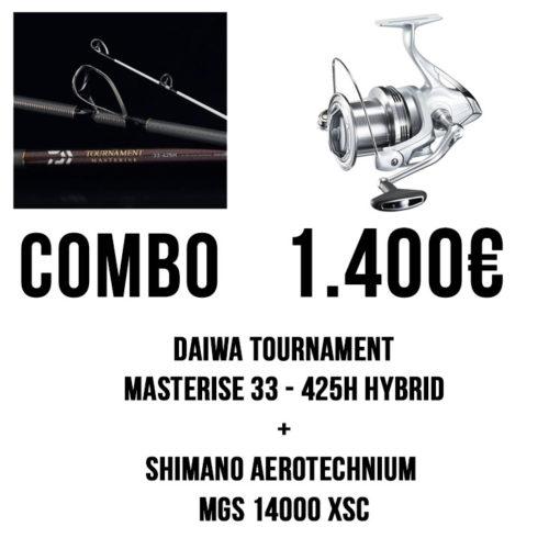 combo daiwa shimano