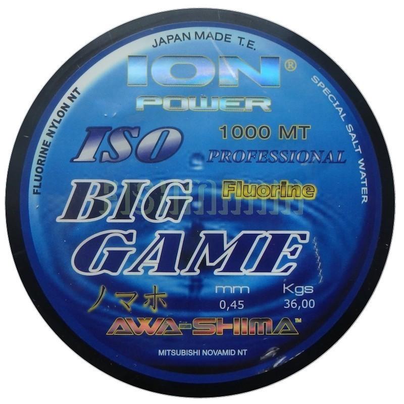 Hilo fluorine AWA SHIMA BIG GAME ION POWER