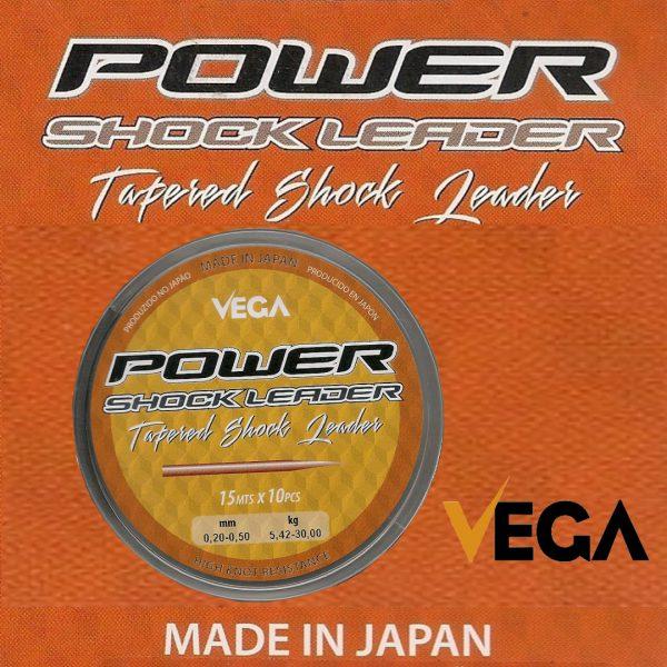 Cola de rata Vega Power Shock Leader