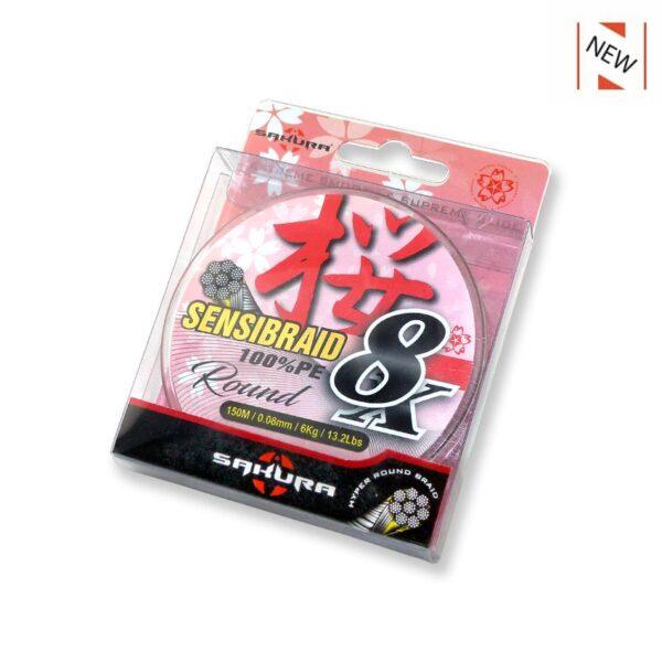 Trenzado Sakura Sensibraid x8 100 PE Round