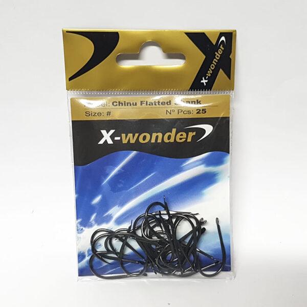 Anzuelo X-WONDER – Chinu Flatered Shank
