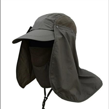 Gorra con protección cuello y lateral
