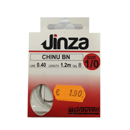 Jinza Chinu BN empatillado