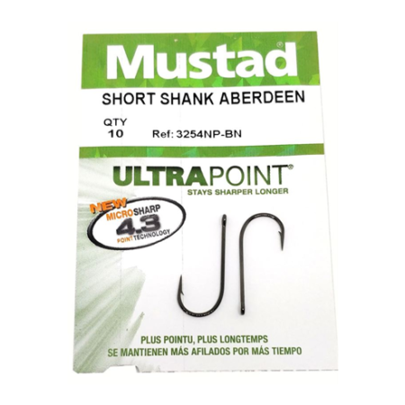 Mustad Shortr Shank Aberdeen
