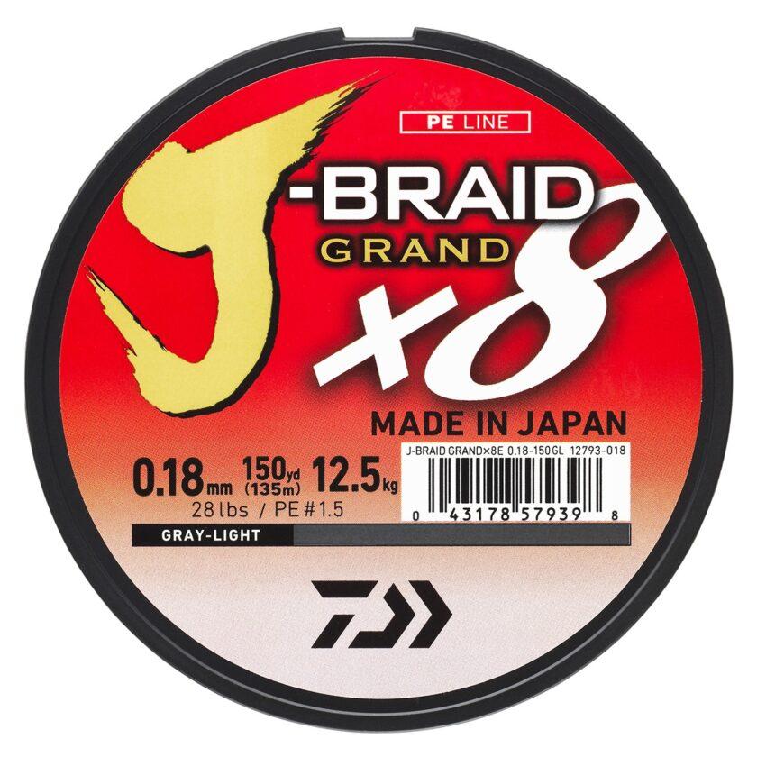 Trenzado Daiwa J-Braid GRAND
